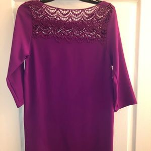 Dresses & Skirts - Purple lace dress